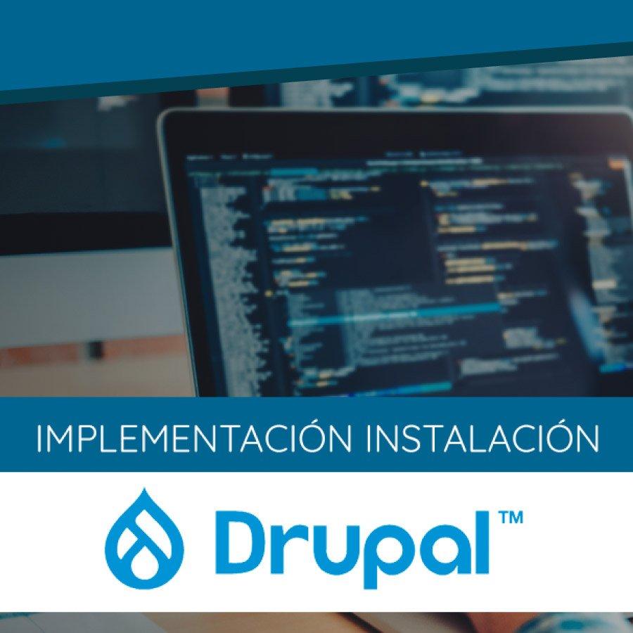 Instalación Drupal
